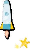イラスト:ロケット
