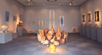 写真:八千代の丘美術館 2011-2012 個展風景