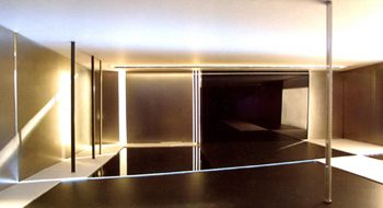 写真:「光の空間」2000年