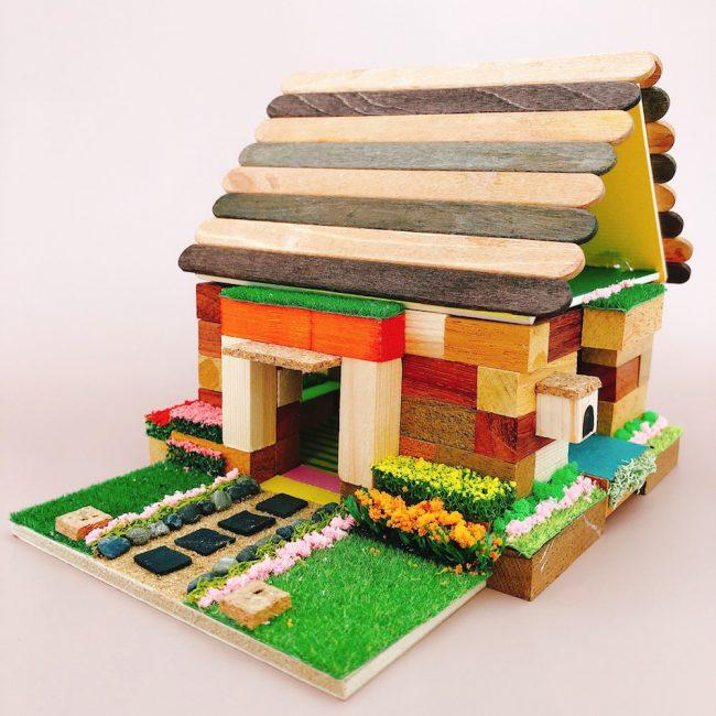 K.ウッドブロックの家(初級編)
