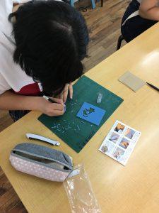 中高生クラス 鋳造実習