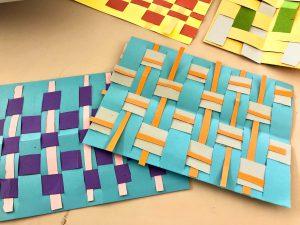Paper Weaving 安田小アフタースクール教室